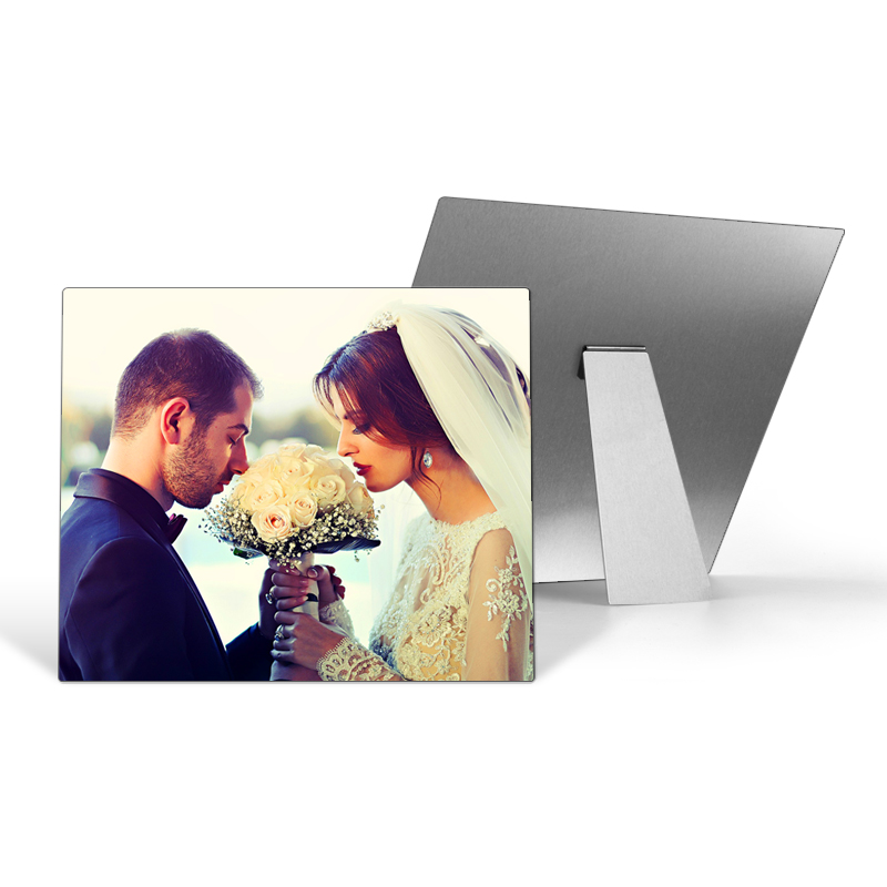 Aluminium Tabletop Photo Panels