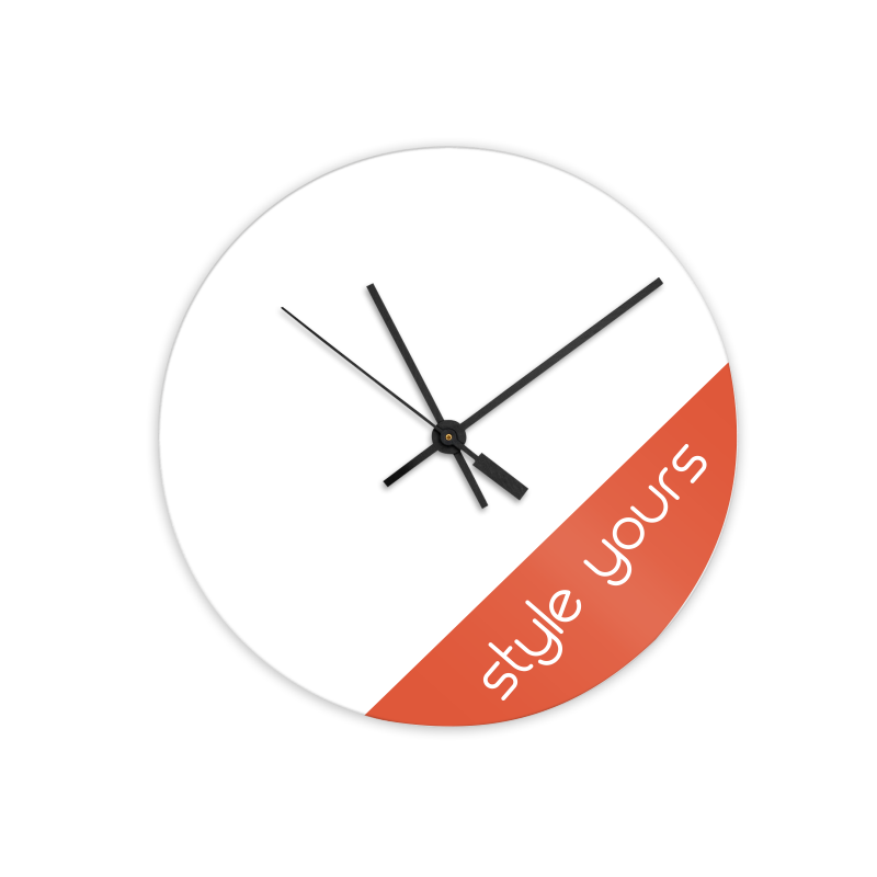 Hardboard Wall Clocks